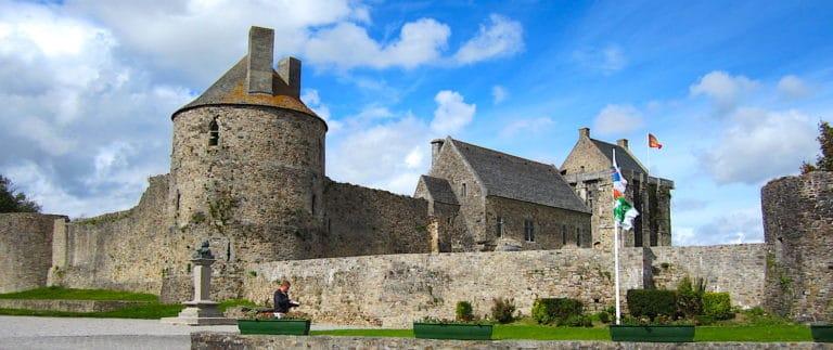 Saint-Sauveur-le-Vicomte fortress and abbey in Cotentin