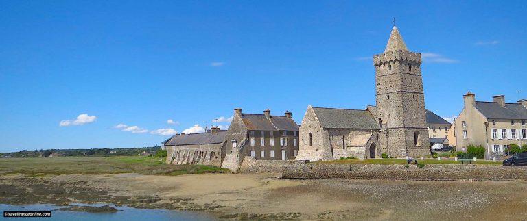 Portbail, seaside resort on Côte des Isles
