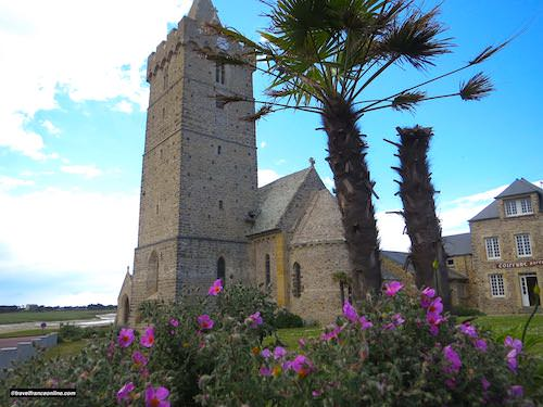Fortified Notre-Dame de Portbail Church