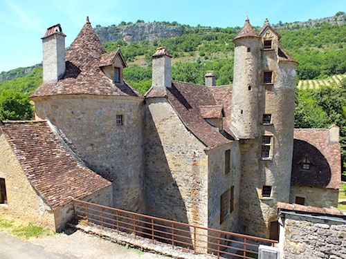 Chateau de Limargue in Autoire - Lot