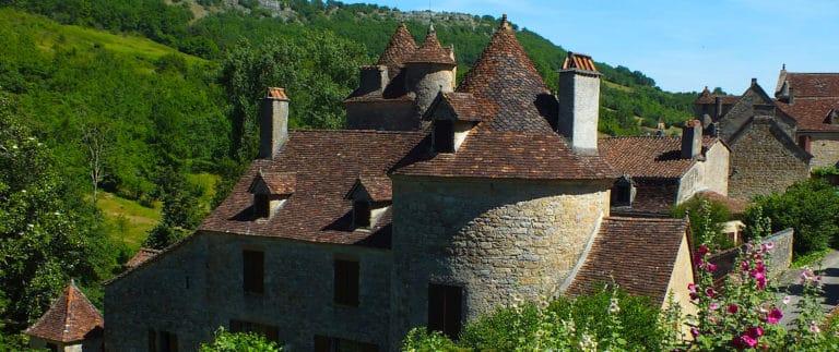 Chateau de Limargue in the listed village of Autoire