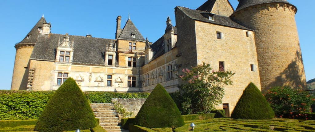 Chateau de Montal in the Lot department in Quercy