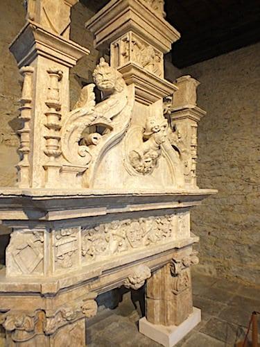 Chateau de Montal - Baroque fireplace