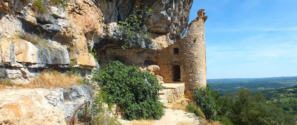 Chateau des Anglais, also known as Chateau Fort de La Roque d'Autoire in the Lot department