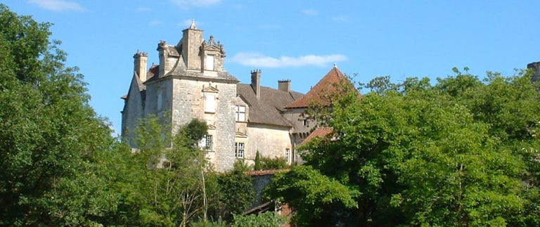 Chateau of Cenevieres, medieval fortress and Renaissance castle
