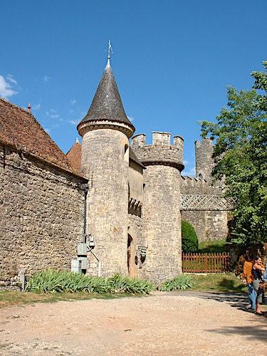 Medieval Chateau de Cenevieres