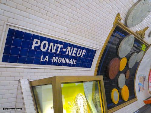 Pont-Neuf Metro station