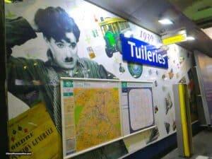 Tuileries Metro station - Years 1930
