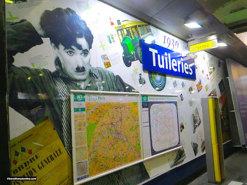 Tuileries Metro station - Years 1930