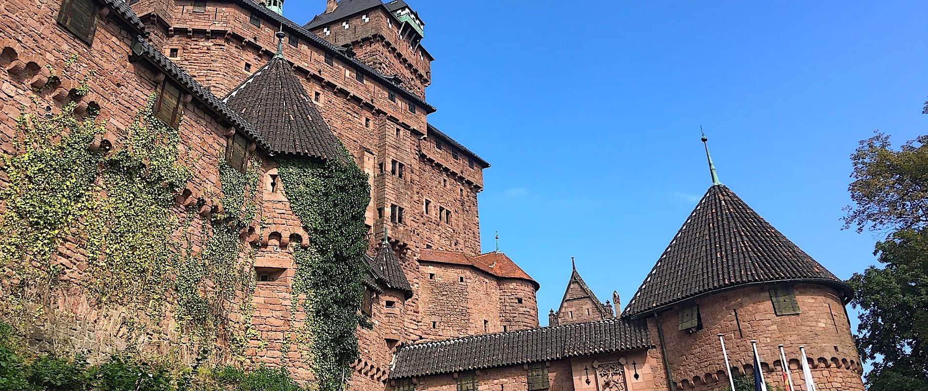 Chateau de Haut-Kœnigsbourg in Alsace - France