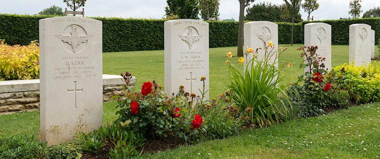Juno Beach War Memorials in Douvres-la-Delivrande