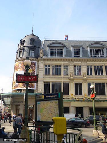 Le Bon Marché Rive Gauche at Sevres-Babylone Metro station