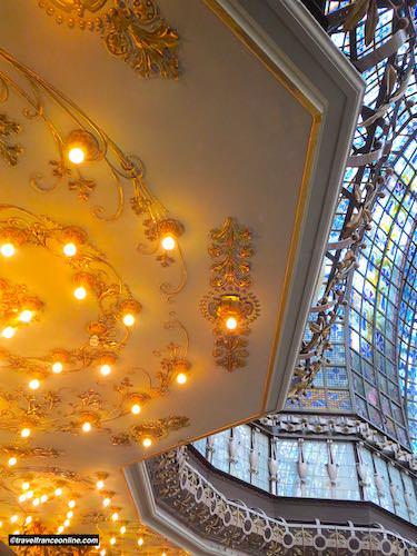 Printemps Haussmann - Lightning and cupola above central hall