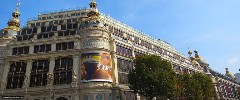 Printemps Haussmann, luxury department store