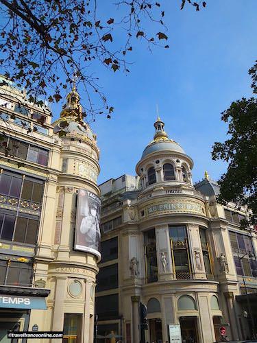 Printemps Haussmann - Interconnected buildings on Boulevard Haussmann