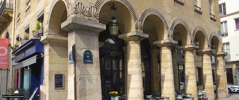 Rue des Colonnes in Paris