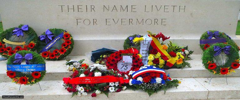 Beny-sur-mer Canadian War Cemetery near Juno Beach