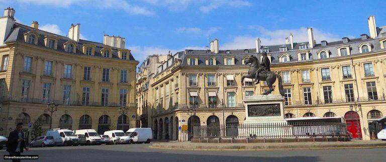 Place des Victoires in Paris
