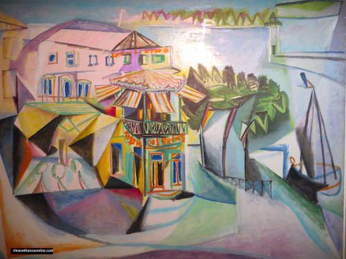 Hotel Sale - Picasso Museum - Café à Royan - 1940 Cubism