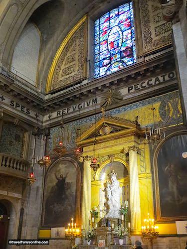 Notre Dame des Victoires Basilica Refuge des Pecheurs