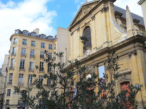 Notre Dame des Victoires Basilica facade