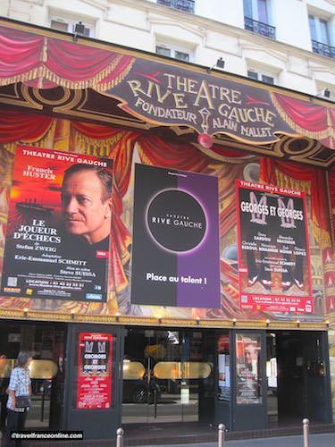 Theatre Rive Gauche in in Rue de la Gaite