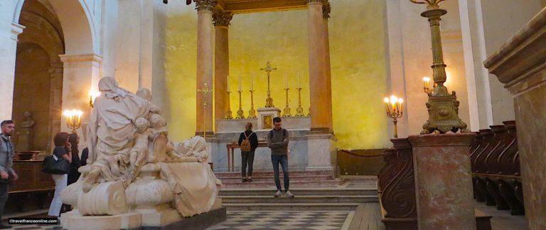 Sorbonne Chapel and Cardinal de Richelieu tomb