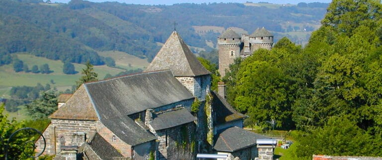 Tournemire, one of the most beautiful villages in France