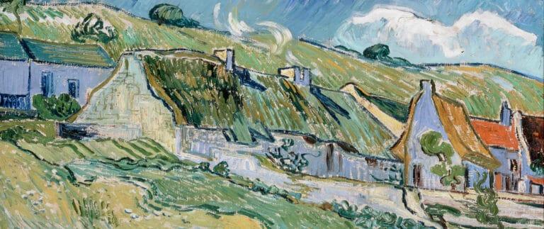 Auvers-sur-Oise - Cottages by Van Gogh