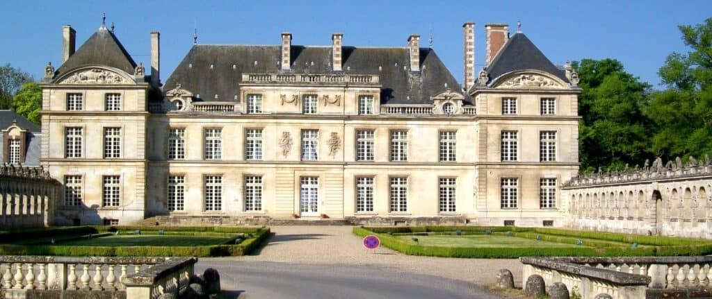 Chateau de Raray in the Oise department