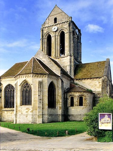 Church of Our-Lady-of-the-Assumption in Auvers-sur-Oise