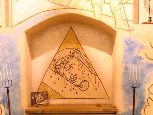 Saint-Blaise-des-Simples Chapel in Milly la Foret