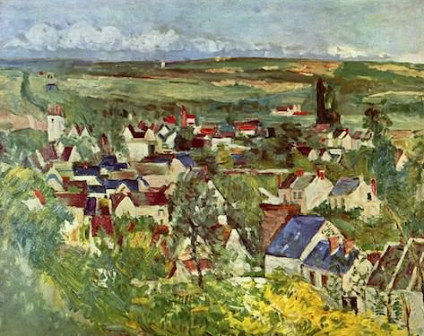 Auvers-sur-Oise by Cezanne