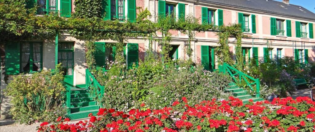 Maison de Monet in Giverny