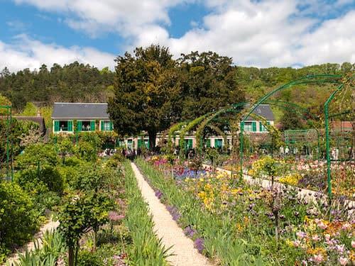 Le Clos Normand - flower garden - Maison de Monet in Giverny
