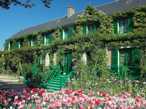 Maison de Monet in Giverny