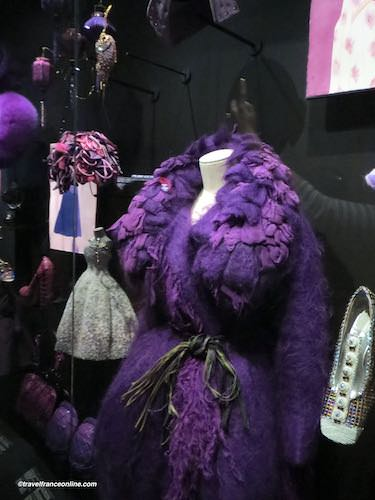Christian Dior - Purple collections - Exhibition Louvre 2017