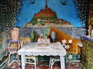 Maison Picassiette - living-room