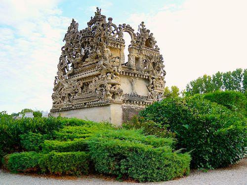 Ferdinand Cheval's Mausoleum in Hauterives Cemetery