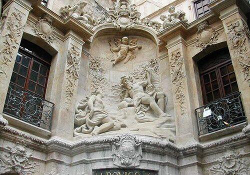 Fontaine du Gros Horloge in Rouen