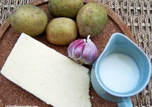Ingredients for Aligot