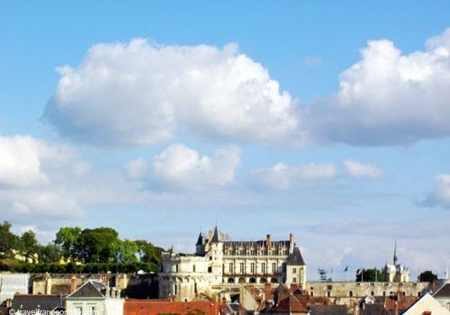 Amboise Castle and city