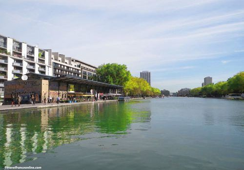 Bassin de la Villette and Quai de Seine