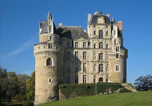 Chateau de Brissac - Gothic and Renaissance wings