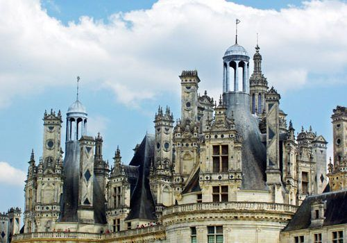 Chateau-de-Chambord-roofs