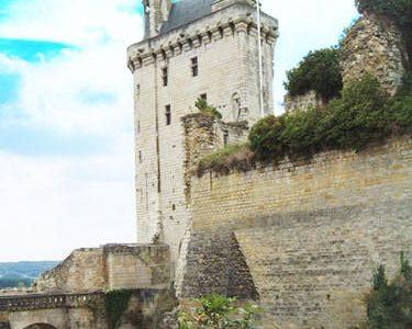Chateau de Chinon - Tour de l'Horloge