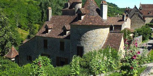 Chateau de Limargue - Round defense tower