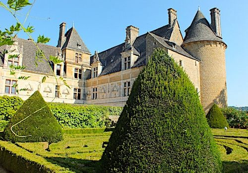 Chateau de Montal - Renaissance facades and seen from the formal garden