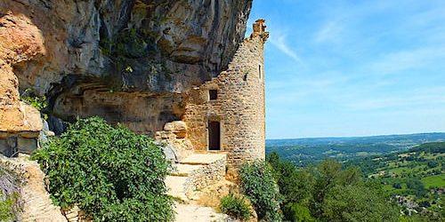 Chateau des Anglais, also known as Chateau Fort de La Roque d'Autoire