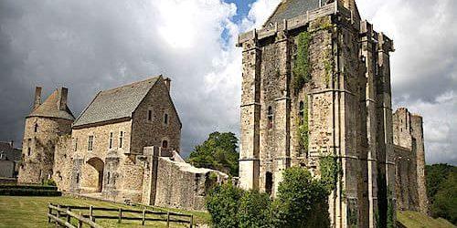 Castle of Saint-Sauveur-le-Vicomte - donjon